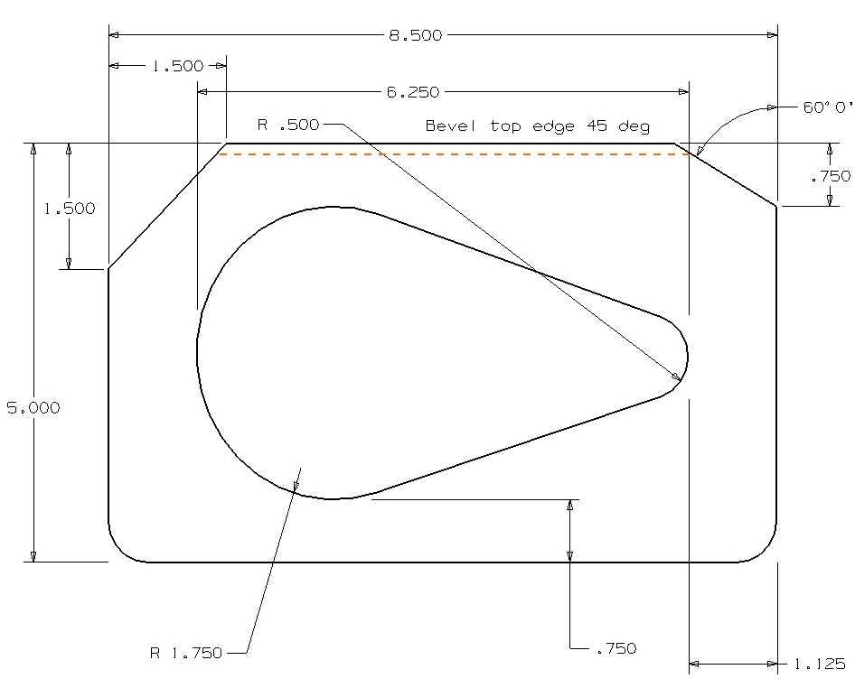 Rear Deck Plate Template Speaker